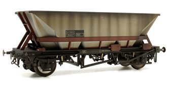Custom Weathered MGR HAA Coal Wagon (Brown Cradle) #354317