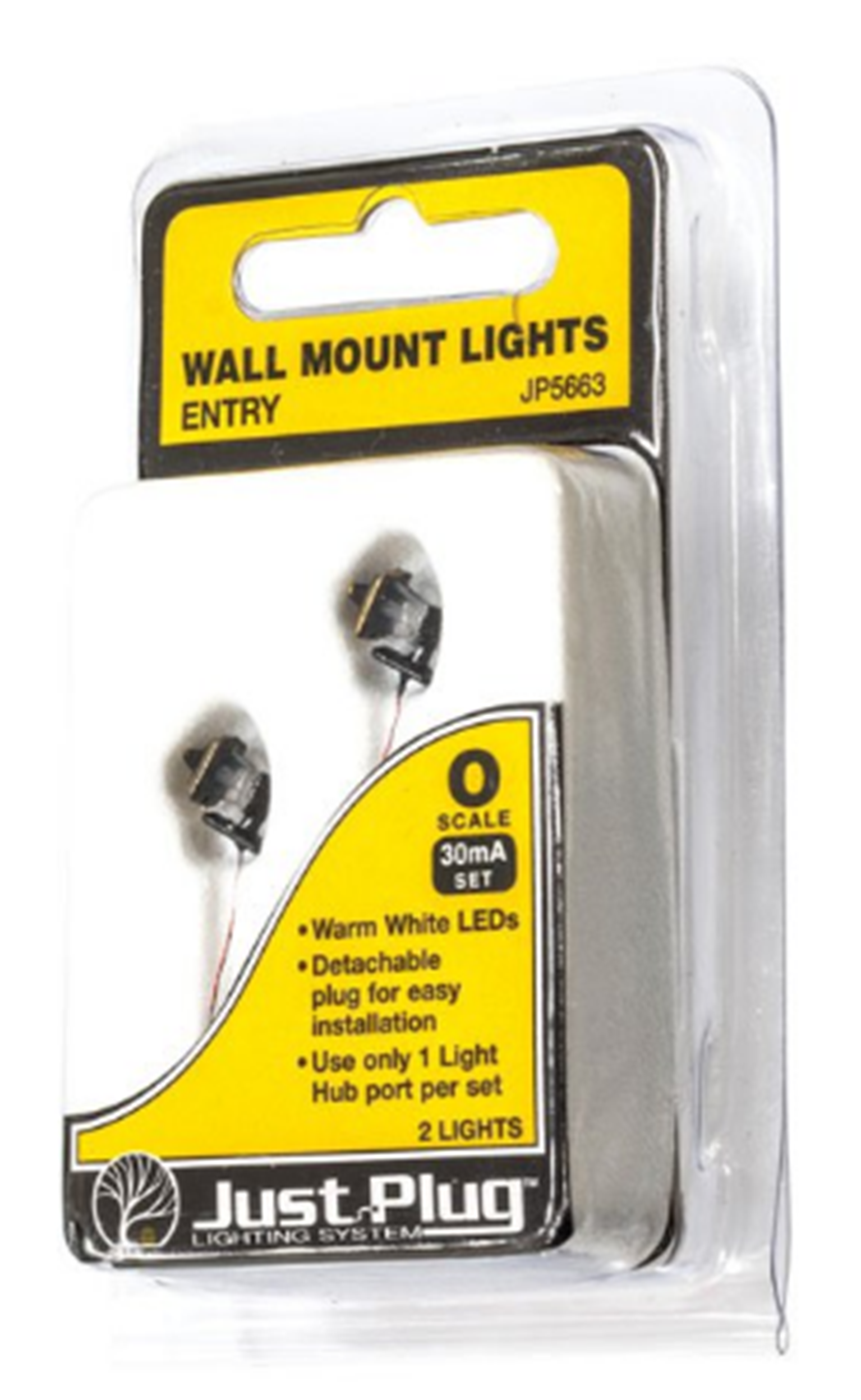 Entry Wall Mount Lights - O Scale